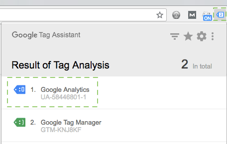 Tag assistant complemento do Google Chrome